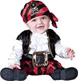 Baby or Toddler Pirate Costume: Infant Captain Halloween Costume (0-6 months with Bracelet for Mom)