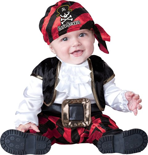 Baby or Toddler Pirate Costume: Infant Captain Halloween Costume (18-24 months) -