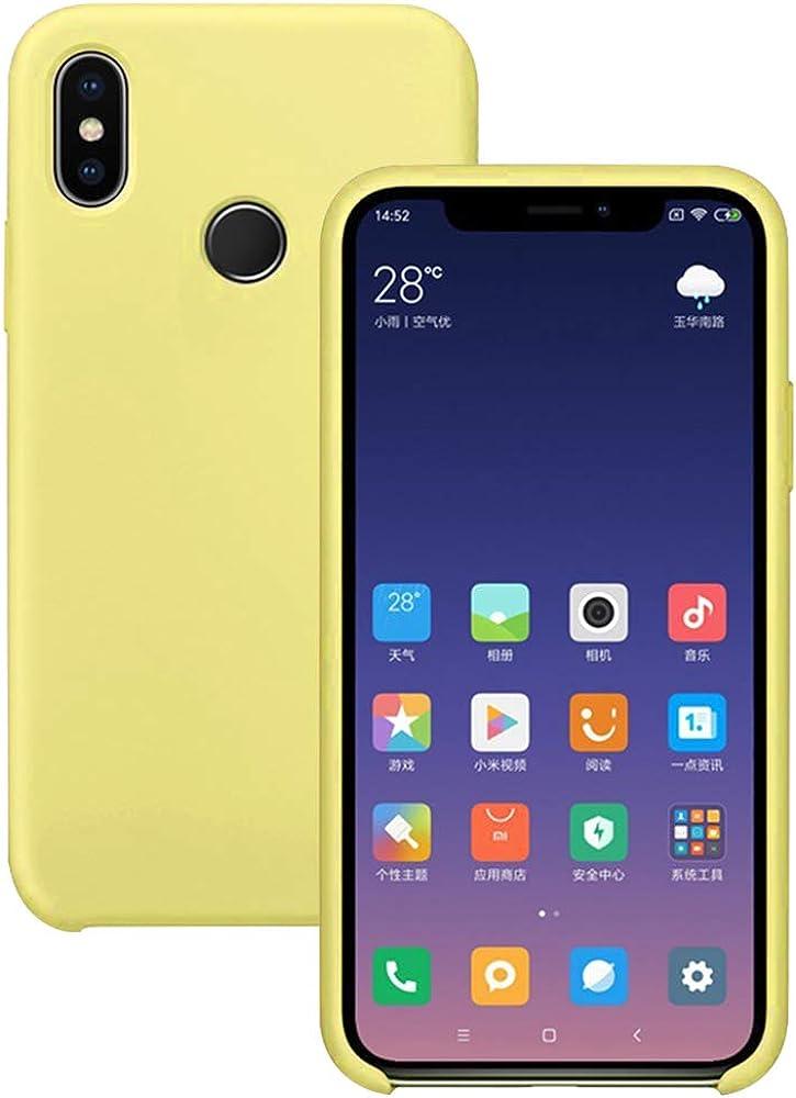 Pacyer Funda Compatible con Xiaomi Mi 8, Ultra Suave TPU Gel de ...