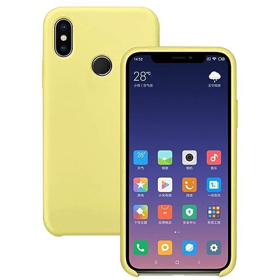 Pacyer Funda Compatible con Xiaomi Mi 8, Ultra Suave TPU Gel de Silicona Case Protectora Suave Flexible teléfono Absorción de Impacto Elegante Carcasa ...