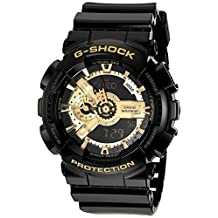 Casio Men's G-Shock GA110GB-1A Black Resin Quartz Watch
