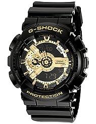 Casio Men's G-Shock GA110GB-1A Black Resin Quartz Watch