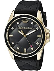 Juicy Couture Womens 1901314 Malibu Black Watch