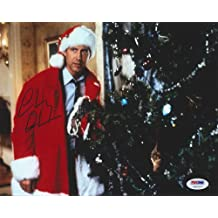 Chevy Chase Signed 8x10 Photo Christmas Vacation - PSA/DNA Authentication - Celebrity Autographs