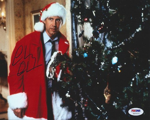 Chevy Chase Signed 8x10 Photo Christmas Vacation - PSA/DNA Authentication - Celebrity (Psa Dna Autograph Authentication)