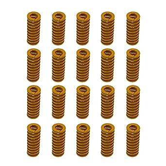 Aoyoho - 20 moldes de compresión de 8 mm de diámetro exterior y 20 ...