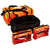 Primacare KB-4135-O First Responder Bag, 21-Inch Length X 12-Inch Width X 9-Inch Height, Orange