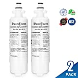 LG Lt700p Water Filter Compatible With Kenmore 46-9690,LG Replacement Cartridge Adq36006101,Adq36006101-s and Lt700pc Lg Refrigerator Water Filter (2 Pack)