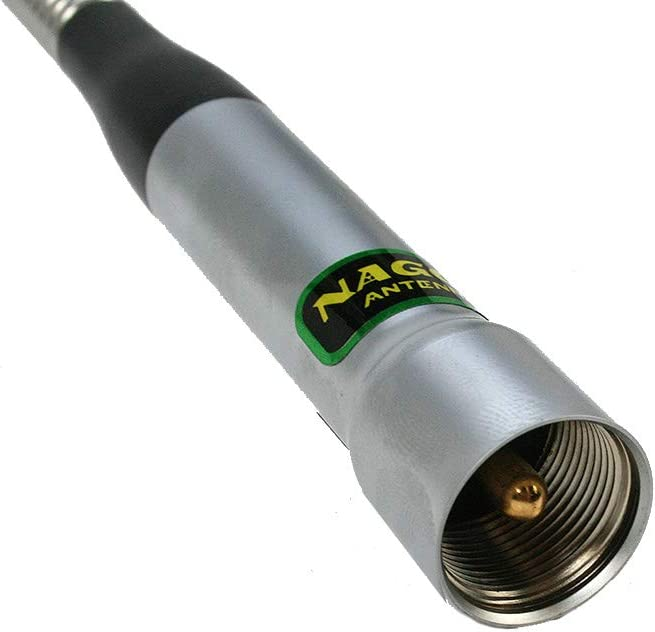 NAGOYA SP80P Antena Bibanda VHF/UHF 144/430 mHz con muelle ...
