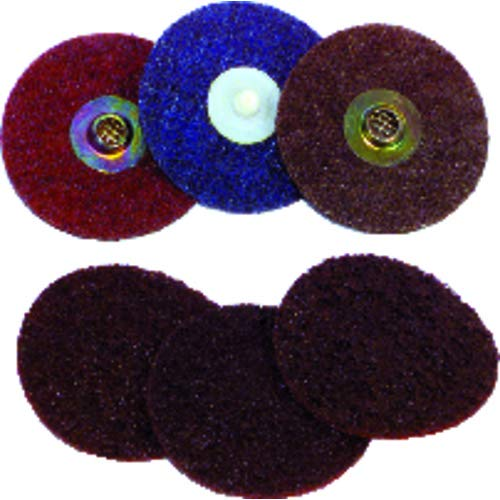 3? - Medium Grit - Surface Conditioning Turn-On Quick Change Disc (Pack of 10)