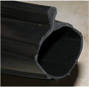 Garage Door Gasket >> P Bulb Bottom Weather Seal Fits Overhead Door Models 16 4