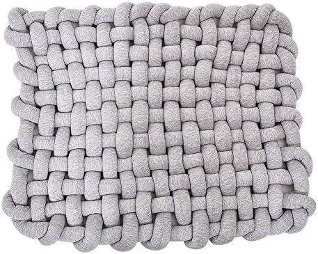 Zinsale Hecho a mano nudo bebé tapete de algodón algodón ...