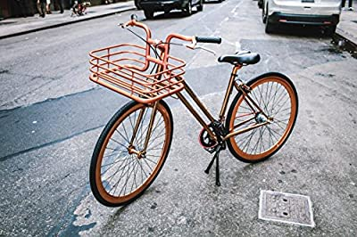 Martone Cycling Women's Studio City Bicycle, Rose Gold, 44cm/One Size