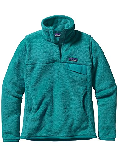 Patagonia Women's Pullover winter camping clothes that make you stay warm with proper winter camping clothing