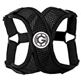 Gooby Choke Free Step-In Comfort Dog Harness, Black, X-Large