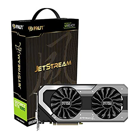 Palit NEB1080015P2-1040J - Tarjeta gráfica (GeForce GTX 1080 ...