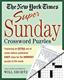 The New York Times Super Sunday Crossword Puzzles, New York Times Staff, 0312331150
