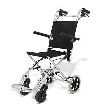 Sillas de ruedas Silla de Viaje Trolley para Personas Mayores niños Trolley portátil Scooter de Ruedas