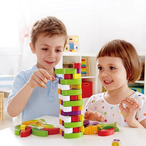 Award Winning Hape Stacking Veggies Kid's Wooden Skill Learning Game by Hape (Image #5)