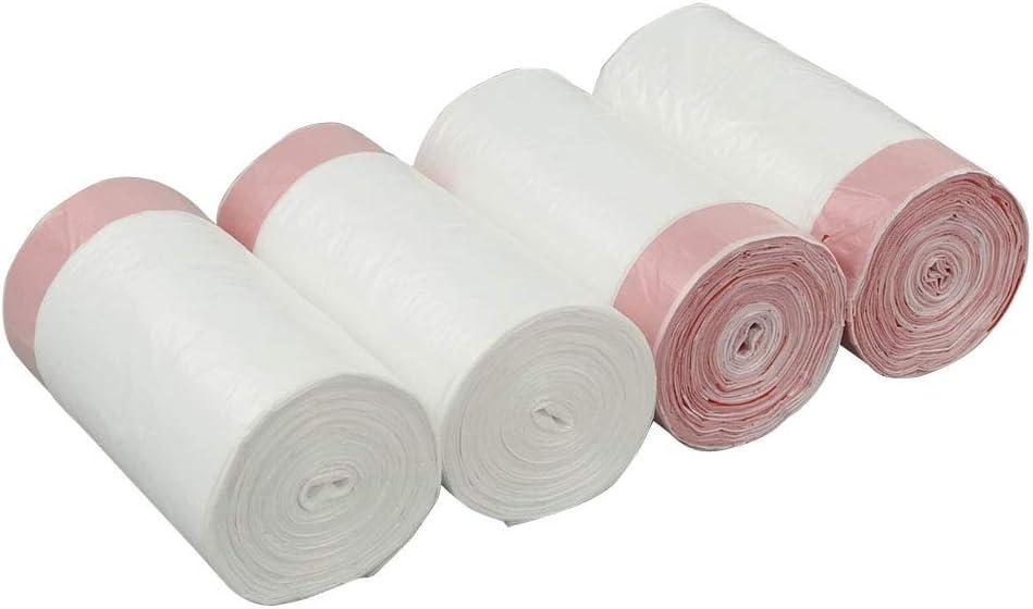 Cadine 5 L Bolsa de Basura con cordón, Blanco, 240 Bolsas Bolsas ...