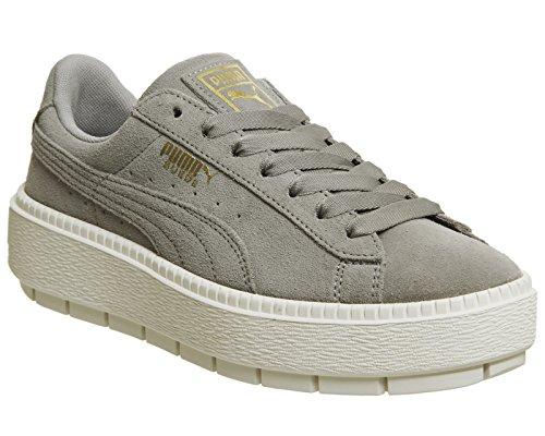 Platform Puma Sneaker Wns Damen Trace 06 Grau Ridge Rock Marshmallow 365830 ZpqB1d
