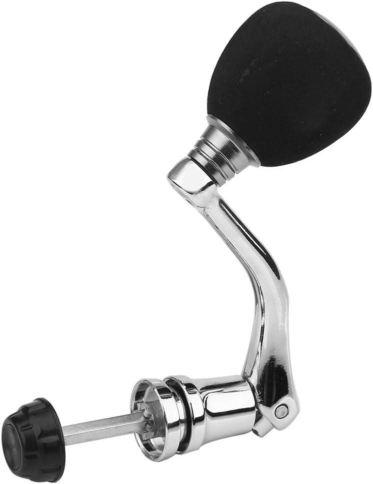 Metal Fishing Reel Knob Wheel Handle Arm Grasp Grip Tool Parts Kit Replacement