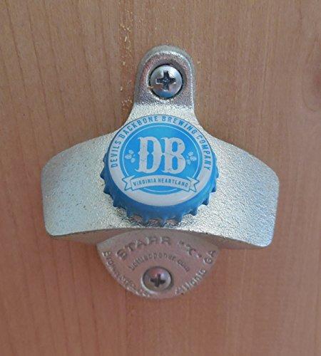 Devils Backbone Cap Starr X Wall Mount Bottle Opener Blue Cap