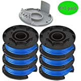 AC14RL3A String Trimmer Replacement Spool Line for Ryobi One+ 18V, 24V, and 40V Cordless Trimmers, 0.065