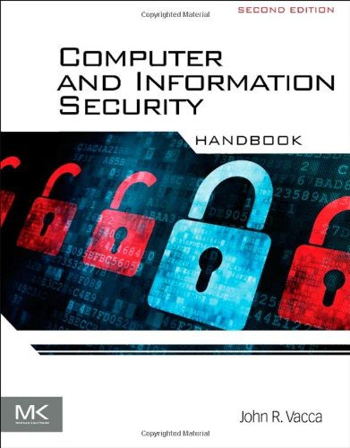 Computer and Information Security Handbook, 2nd Edition Front Cover