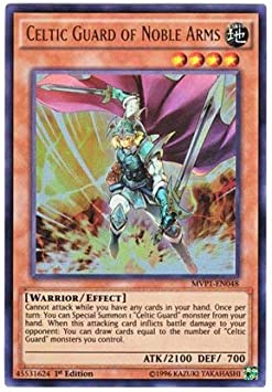 Celtic Guard of Noble Arms MVP1-EN048 Yugioh Ultra Rare Unlimited Edition