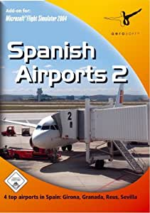 Aerosoft Spanish Airports 2 - Complemento para simulador de vuelo