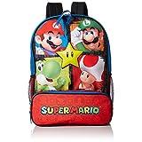 Nintendo Boys' Mario Backpack, Red
