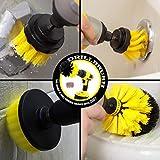 Bath Mat Scrubber - Shower Curtain - Cleaning