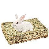 PrimePets - Juego de 3 alfombrillas para cama de conejo, conejo, conejo, conejo, conejo, hámster, rata, 3 unidades