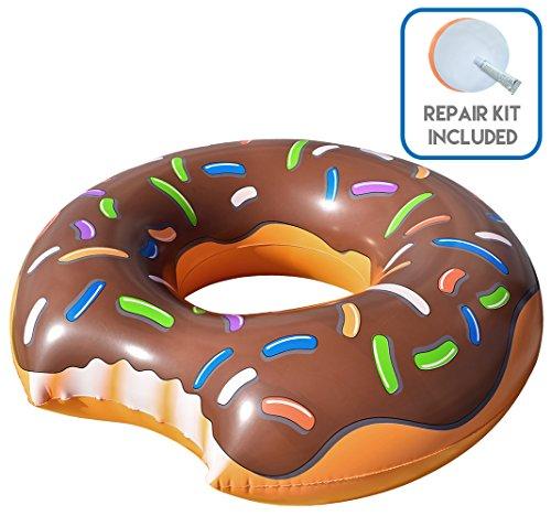 Cooluli Gigantic Chocolate Donut Float