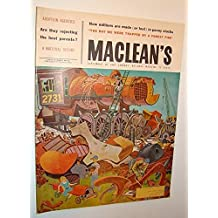Maclean's - Canada's National Magazine, September 26, 1959 - The World of Duddy Kravitz