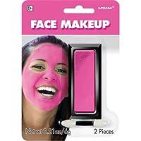 Party Perfect Team Spirit Cream Face Makeup Accessory, Pink, Non Toxic , .21Ounces
