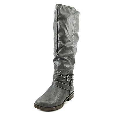 a76bb791e134 XOXO Womens Martin Closed Toe Knee High Riding Boots