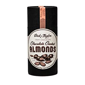 Dick Taylor Chocolate, Almonds Chocolate Covered, 6 Ounce