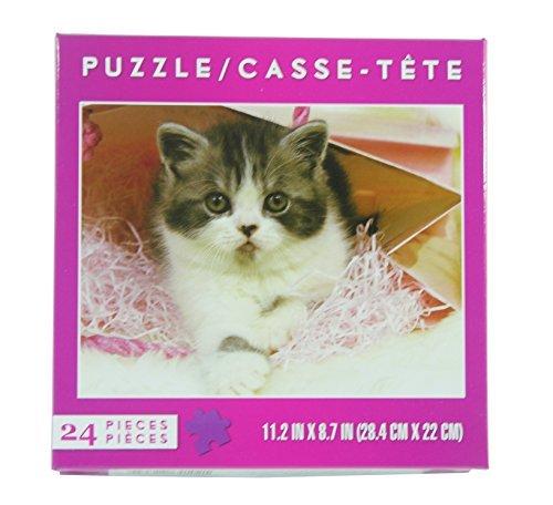 Gift Kitten 24 Piece Puzzle by verdebrier