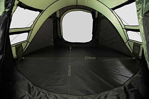 FiveJoy Instant Pop Up Dome Tent Easy Automatic Setup, Fast Pitch and Fold, Portable Carry Bag (Includes Stakes) for Camping Hiking Fishing Beach Outdoor Festival