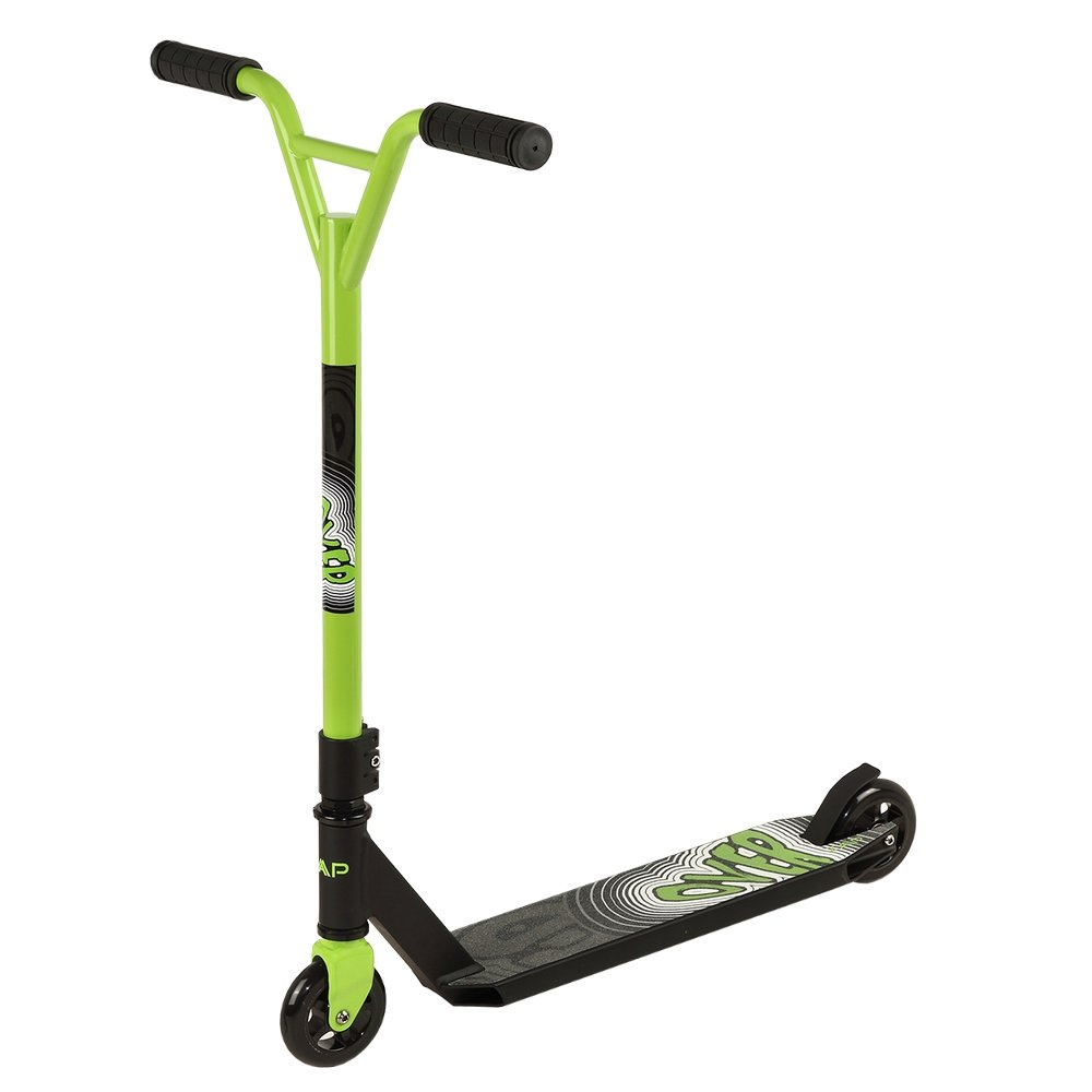 ZAAP 360 Freestyle Stunt Scooter Black/Green