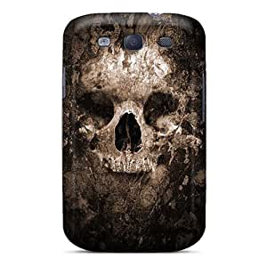 Shockproof Hard Phone Cover For Samsung Galaxy S3 (frE8532RKmL) Allow Personal Design HD Metallica Skin