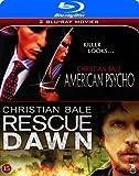 American Psycho [Uncut] / Rescue Dawn - Christian Bale 2 Blu-ray Pack
