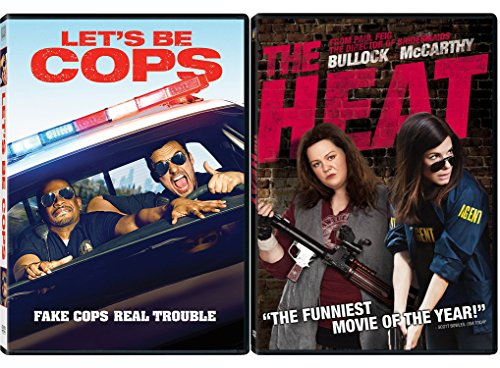 Dictator Costume Set (The Heat & Let's Be Cops Double Feature DVD Fun Action Comedy movie Set Combo Double Edition)