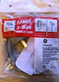 GE WX9X6 4' - 3 Prong Range Power Cord - 40 Amp