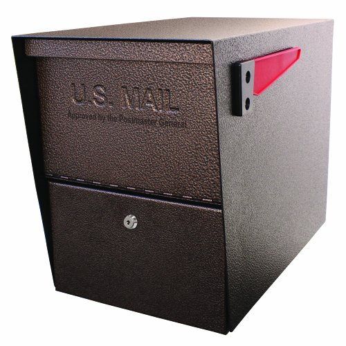 Mail Boss Package Master Security Mailbox, Bronze 7208 (Usps Master Lock)