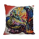 Pillow Cases Of Dog Abstract Art Best Fit For Study Room Dance Room Divan Bedroom Club Wife Twin Sides ArtsLifes