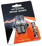 Alligator cartucho de freno de carretera de bicicleta compatible almohadillas para orejas para orejas de zapatos con Campy Campagnolo freno