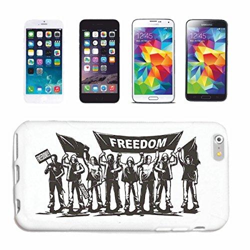 caja del teléfono iPhone 7 REVOLUTION lucha de la calle FIGHT CLUB MARTIAL PERSONAS PERSONAS PAZ LA LIBERTAD Caso duro de la cubierta Teléfono Cubiertas cubierta para el Apple iPhone en blanco